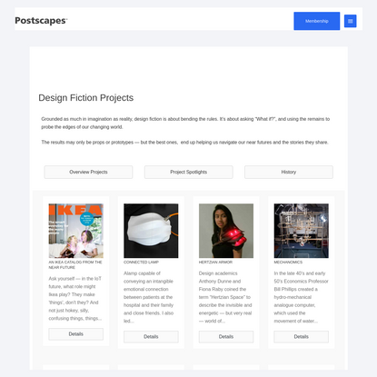 Design Fiction Projects