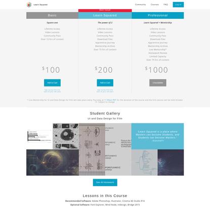 UI and Data Design for Film