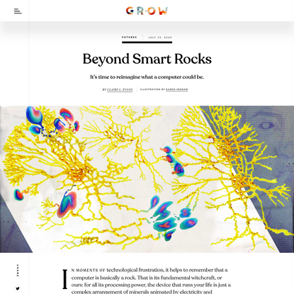 Beyond Smart Rocks
