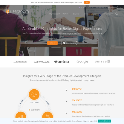 UserZoom | User Experience (UX) Research Platform