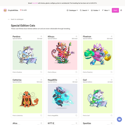 CryptoKitties   Collect and breed digital cats!