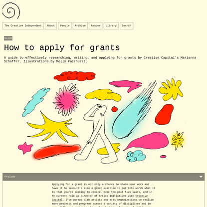 How to apply for grants