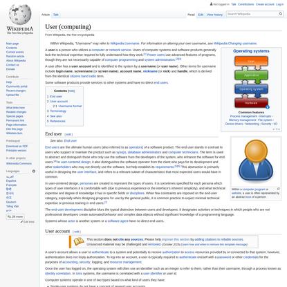User (computing)
