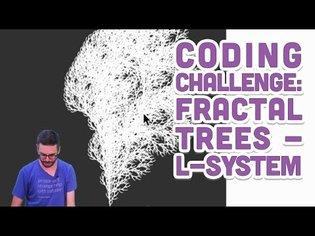 Coding Challenge #16: L-System Fractal Trees