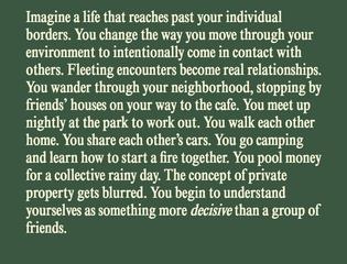 Inhabit Manifesto