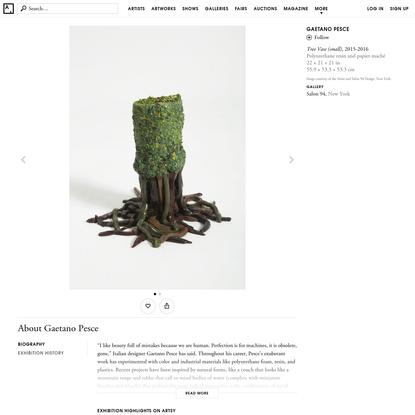Gaetano Pesce | Tree Vase (small) (2015-2016) | Artsy