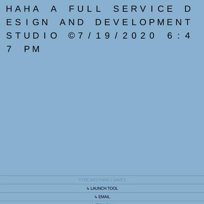 DESIGN/DEVELOPMENT STUDIO