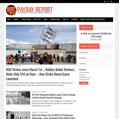 Payday Report