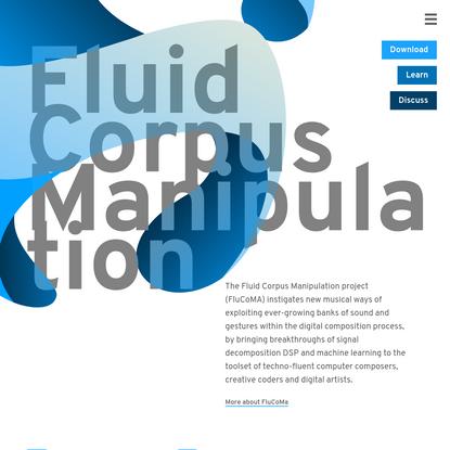 Fluid Corpus Manipulation