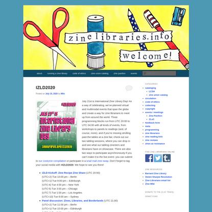zinelibraries.info