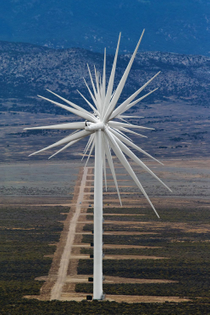 14 Wind Turbines at Spring Valley Wind Farm in Nevada
