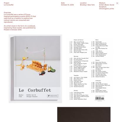 Esther Choi, Le Corbuffet