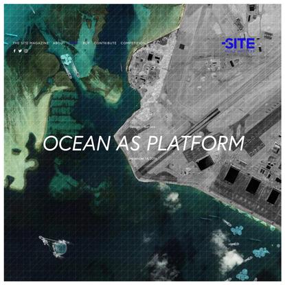 Ocean as Platform