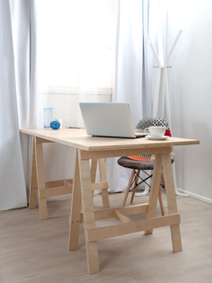simple-small-diy-home-office-furniture-decoration-with-diy-wood-trestle-desk-with-wood-leg-fabric-accent-chair-and-glass-win...