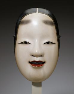 Noh mask, Ogura Sōei, 1991