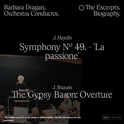 Barbara Dragan - The Excerpts