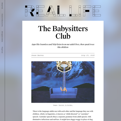 The Babysitters Club - Real Life