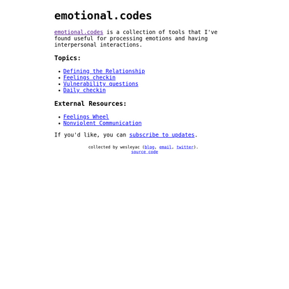 emotional.codes