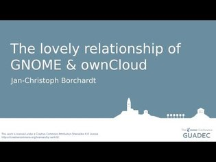 The lovely relationship of GNOME & ownCloud with Jan-Christoph Borchardt