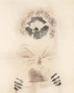 David Hammons (American, b. 1943), Untitled (Bodyprint), 1975