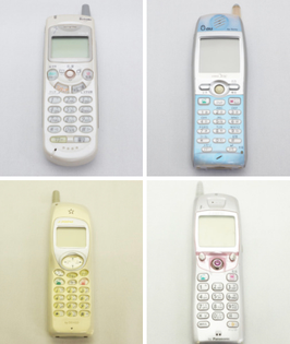 japanese cellphones from the 2000s
