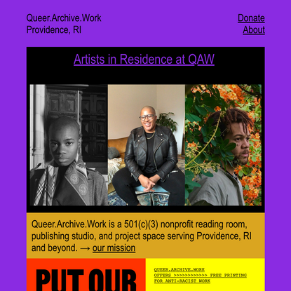 Queer.Archive.Work
