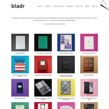 Publications - Bladr