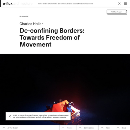 De-confining Borders: Towards Freedom of Movement