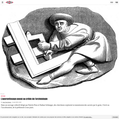 L'apprentissage passé au crible de l'archéologie