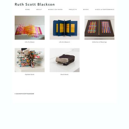 Books - Ruth Scott Blackson