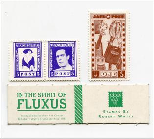 Robert Watts, In the Spirit of Fluxus : Stamps by Robert Watts