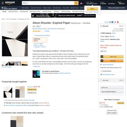 Alison Rossiter: Expired Paper