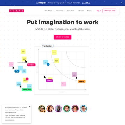 MURAL is a digital workspace for visual collaboration