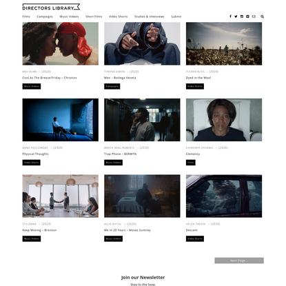 Directors' Library | Dedicated to Filmmakers
