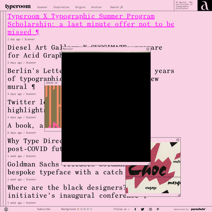 Glorifying Eclectic Typography | TypeRoom
