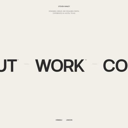 Steven Hanley | Product Designer
