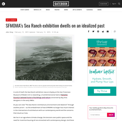 SFMOMA's Sea Ranch exhibition dwells on an idealized past