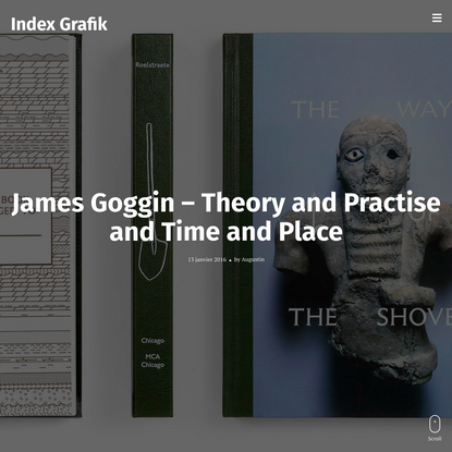 James Goggin - Theory and Practise and Time and Place