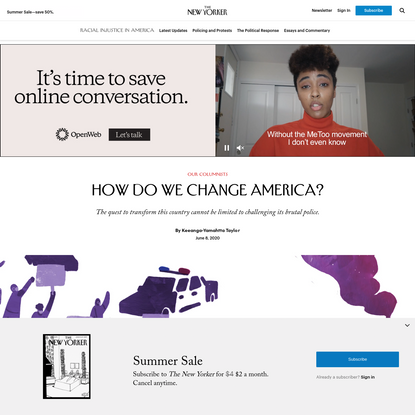 How Do We Change America?