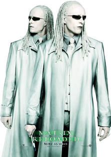 The Matrix Reloaded (Promo Poster 2003)