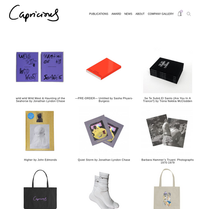 Products Archive | Capricious