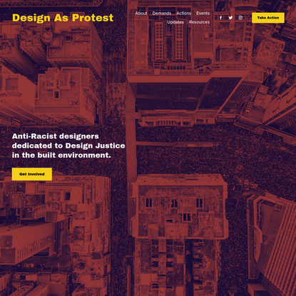 Design As Protest