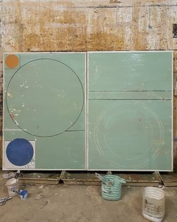 #studiowall #workinprogress #cosmology #maps #canvas #contemporaryart