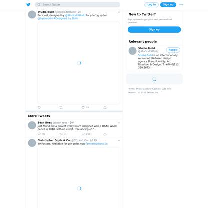 Studio.Build (@StudiodotBuild) Tweeted: Personal, designed by @StudiodotBuild for photographer @bytombird #Designed_by_Build https://t.co/f79Xb0jHME