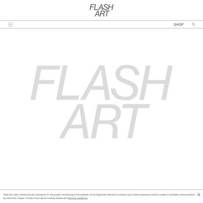 Property Relations     Flash Art