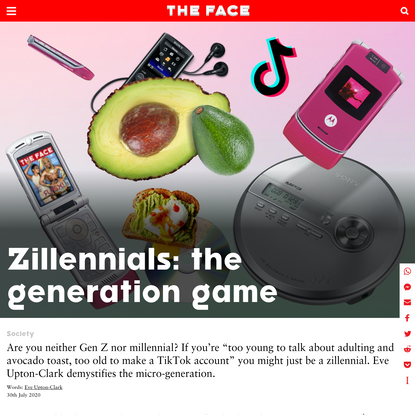 Zillennials: the generation game - The Face