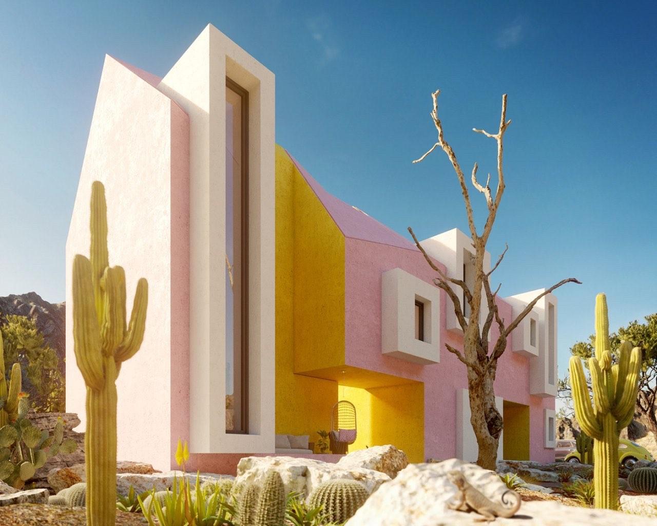 Sonora House, Mexico