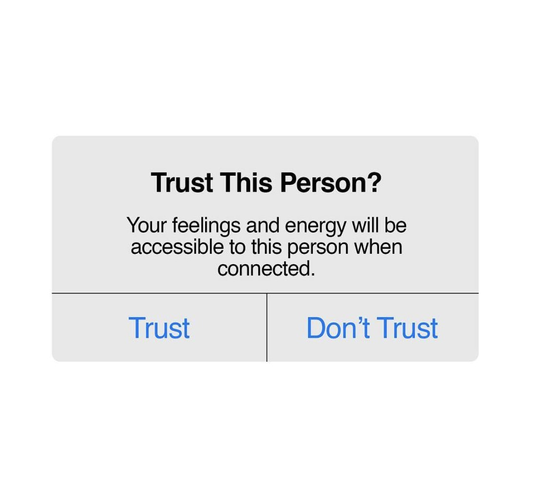 Trust this person?