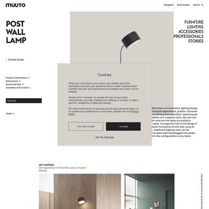Post Wall Lamp   An innovative lighting design