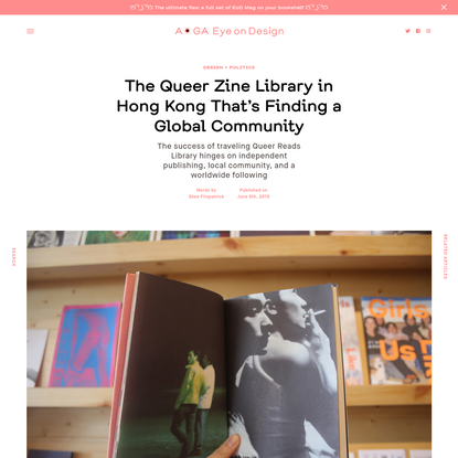 The Queer Zine Library in Hong Kong That's Finding a Global Community